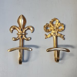 Brass French wall hook (#B 2종)